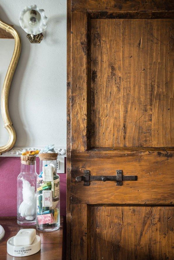 Porte di legno antichizzate walter galluzzi for Porte interne antiche